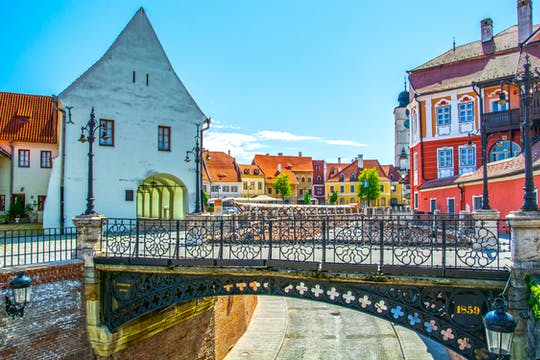 Gastronomical walking tour in Sibiu