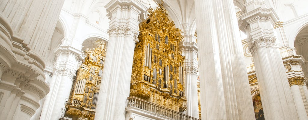 Visita guiada à Catedral, à Capela Real e ao centro histórico de Granada