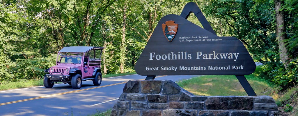 Foothills Parkway Smoky Mountains tour