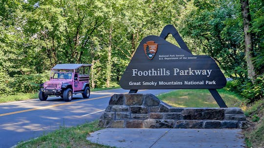 Foothills Parkway Smoky Mountains-tour
