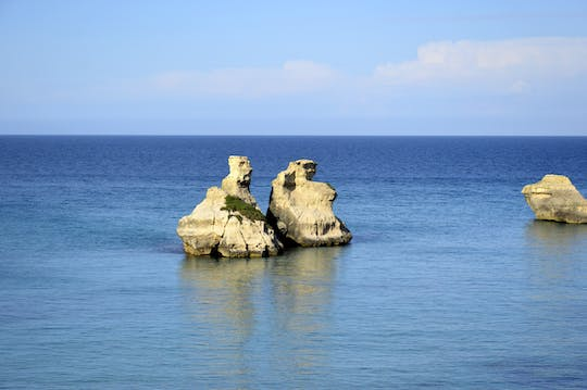 Trek to Torre dell Orso & Snack from Salento Adriatic Coast