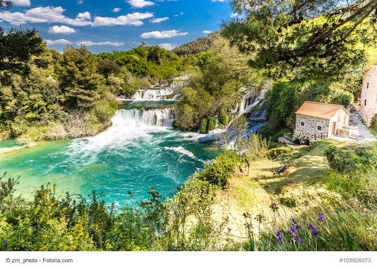 Krka National Park Tour from Brač