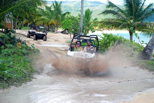 Tour en buggy à travers la campagne et la plage