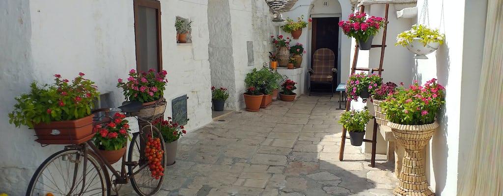Alberobello & Ostuni de la côte adriatique de Salento