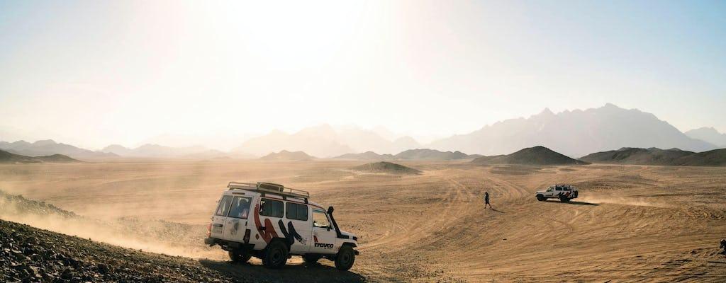 Expérience de coucher de soleil dans le désert & contemplation des étoiles