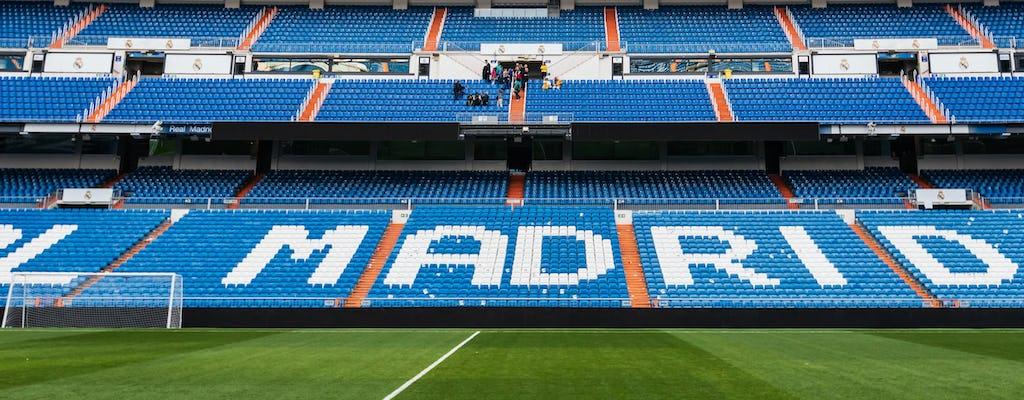 Ingressos de um dia para o estádio Santiago Bernabéu