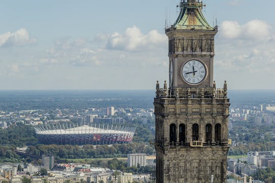 Palace of Culture and Science observation deck fast track tickets
