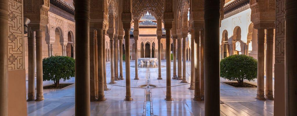 Bilety wstępu do Alhambry z audioprzewodnikiem