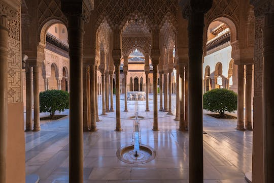 Entrance tickets to the Alhambra with audio guide
