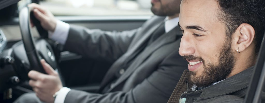 Executive private transfer from Stansted Airport to central London