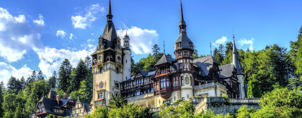 Tour premium aos castelos de Drácula e Peles saindo de Bucareste