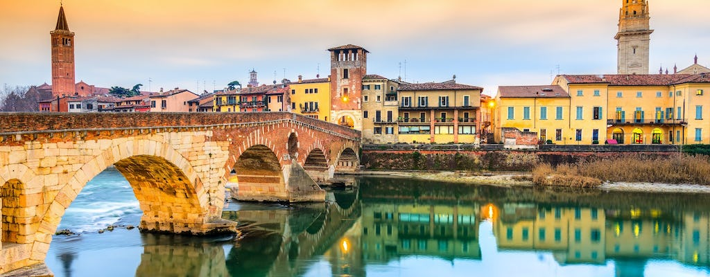 Full-day tour to Venice and Verona from Milan