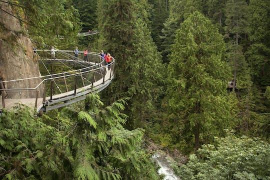 Tour della città di Vancouver e del ponte sospeso di Capilano con pranzo