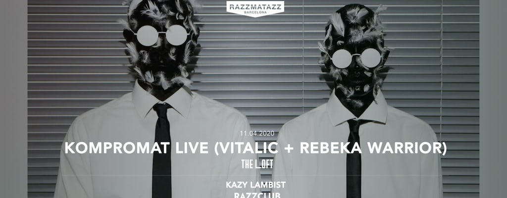 The Loft W- Kompromat Live (vitalic + Rebeka Warrior)