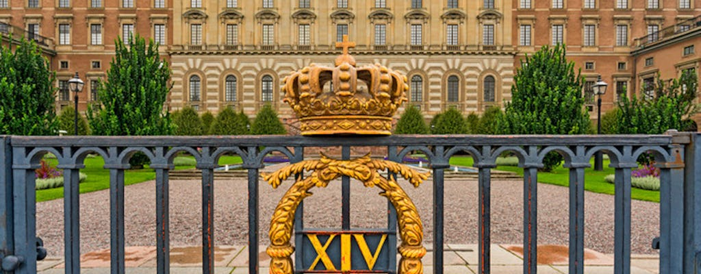 Stockholm and royal armory private walking tour