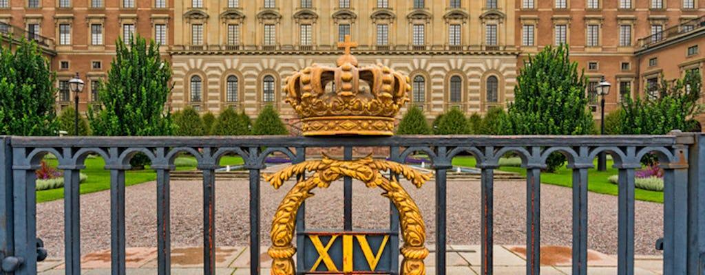 Tour privado a pie por Estocolmo y la armería real
