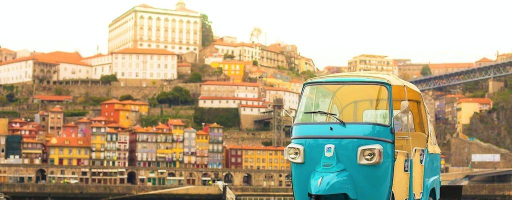 Porto historisches Zentrum und die besten Aussichtspunkte auf einem Tuk-Tuk