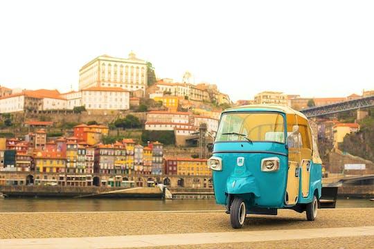 Centro histórico de Oporto y los mejores miradores en un tuk-tuk