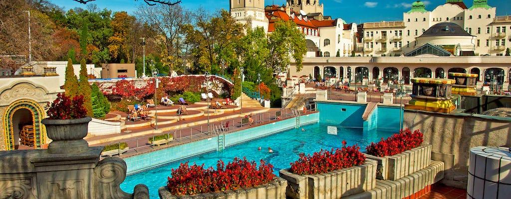 Entradas sin colas para un día en el balneario Gellért de Budapest