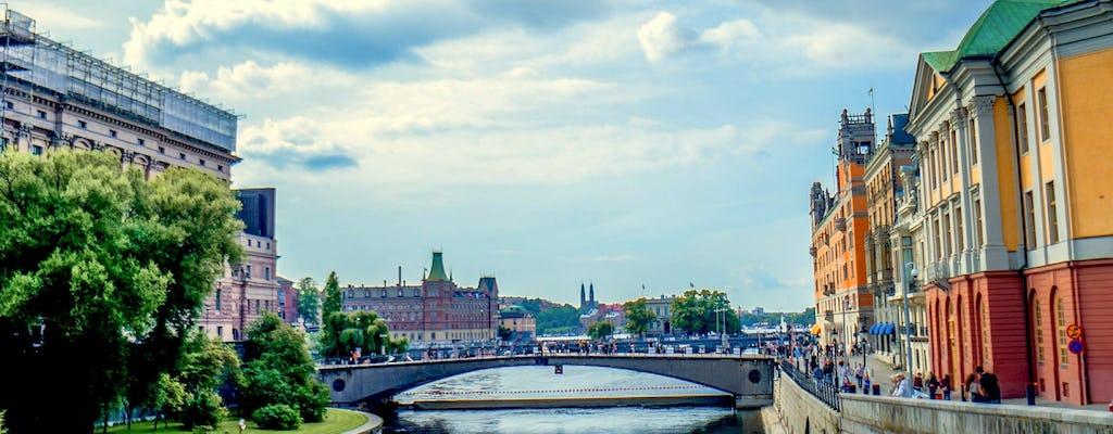 Excursão privada pela cidade velha de Estocolmo com o Museu do Vasa e cruzeiro pelo canal