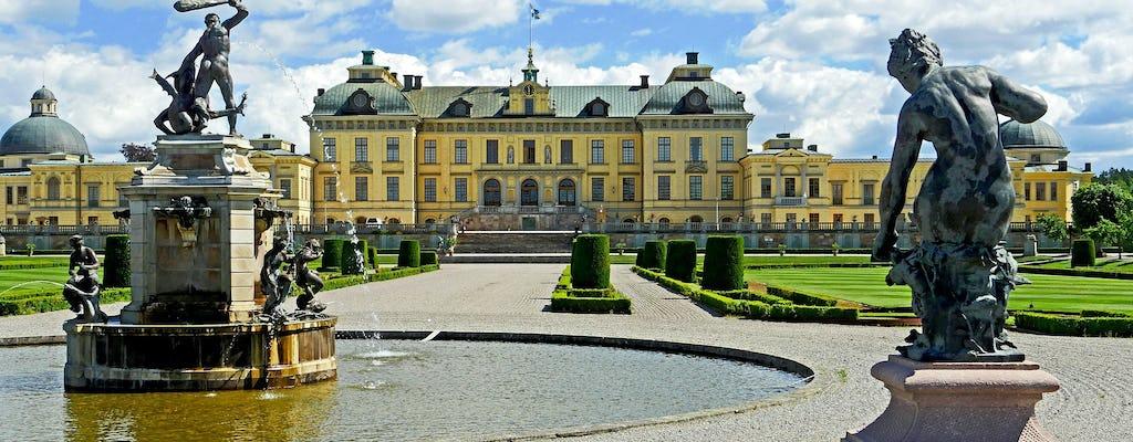 Hoogtepunten van Stockholm en privétour Drottningholm Palace