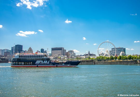 Guided cruise on the St. Lawrence River in Montreal