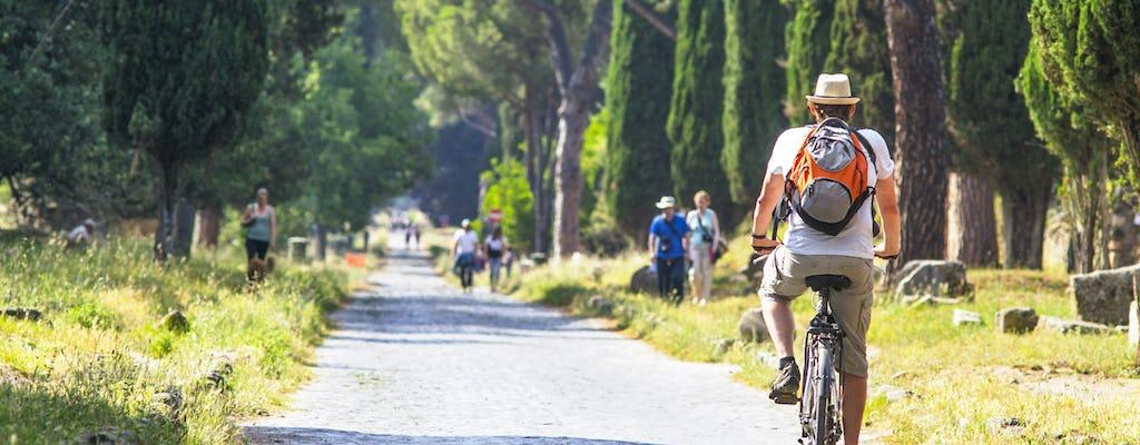 Via Appia: passeio de bicicleta privado