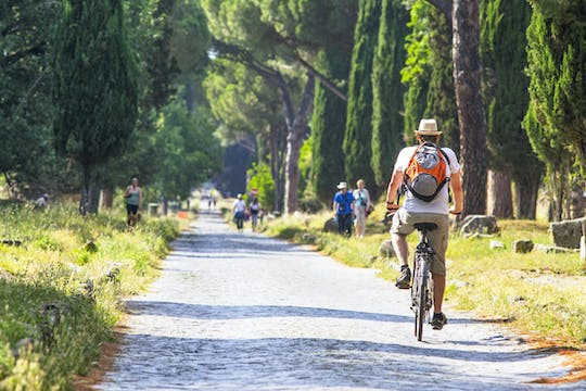 Via Appia private bike tour