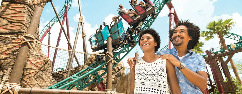 SeaWorld® Orlando unlimited visits ticket with free parking