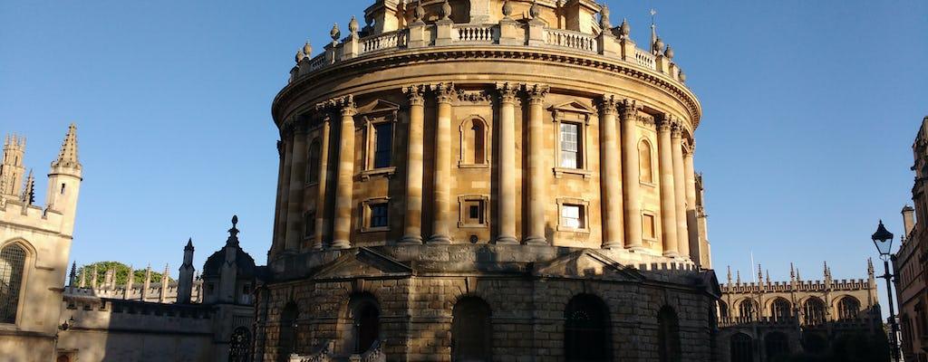 Excursão privada à Universidade de Oxford