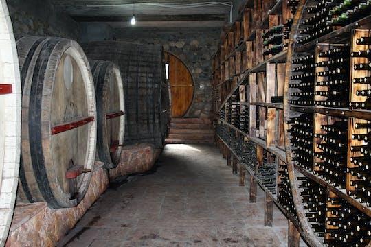 Areni tour pela fábrica de vinhos e degustação