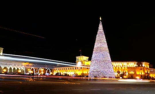 Magic Christmas tour through Yerevan