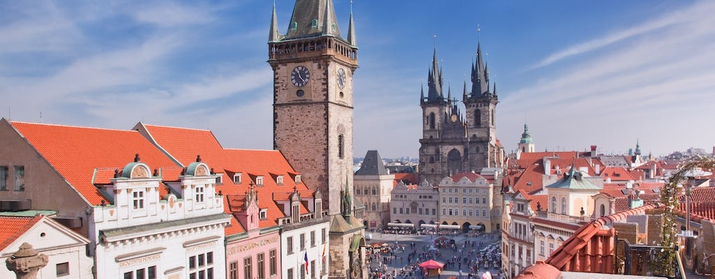 Prague classic city bike tour