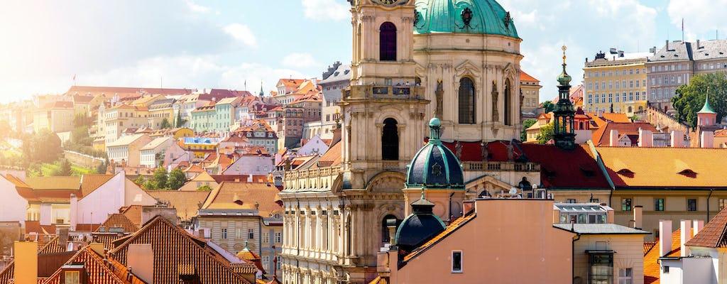 Tour completo de bicicleta pela cidade grande de Praga
