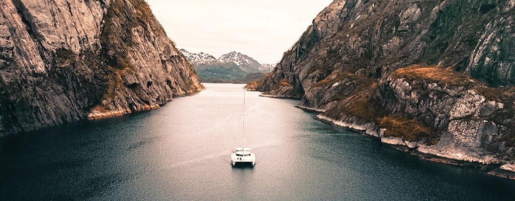 Private fjord sailing in Lofoten