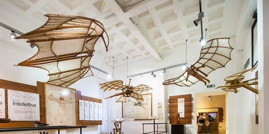 Skip the line tickets to the Leonardo Da Vinci Museum 'The genius and his inventions'