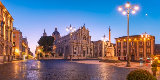Evening street food tour of Catania