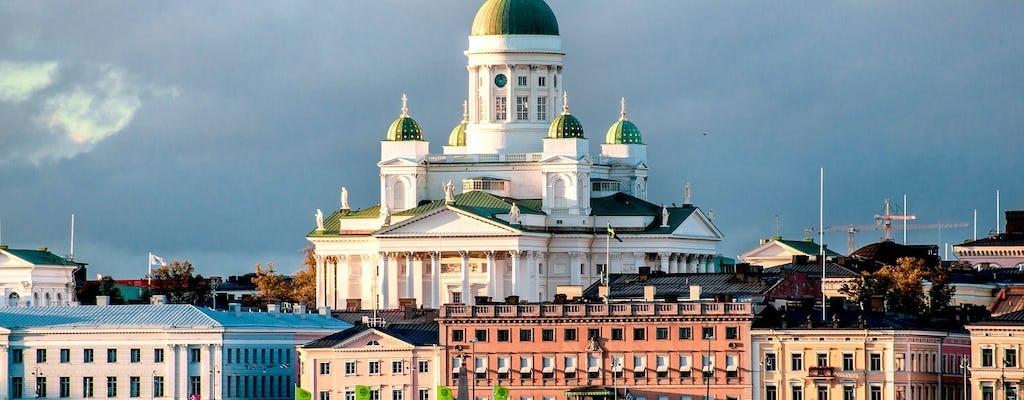 Panoramiczna prywatna wycieczka po Helsinkach z transferem na lotnisko