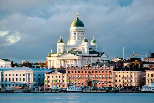 Tour privado panorámico de Helsinki con traslado al aeropuerto