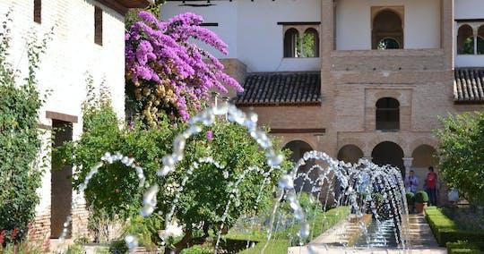 Bilhetes Alhambra sem fila com guia de áudio