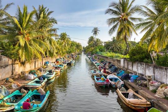 Negombo lagoon boat cruise from Colombo