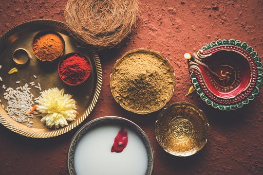 Ayurveda spa treatment, yoga and healthy cooking experience class from Colombo