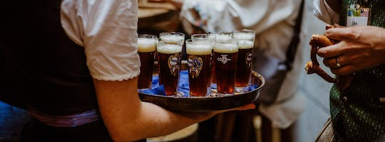 Munich tour with Bavarian beer, food and Oktoberfest Museum