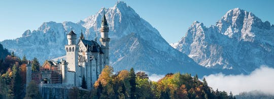Neuschwanstein Castle tour from Munich by train