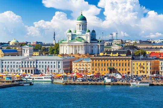 Tour privado de los lugares destacados de Helsinki y el Ice Bar