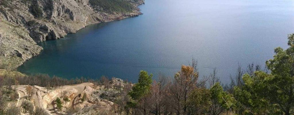 Visite Split, forteresse de Kliss et plage de Vruja