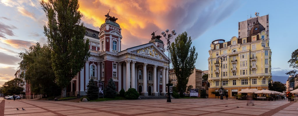 The famous landmarks of Sofia private photography tour