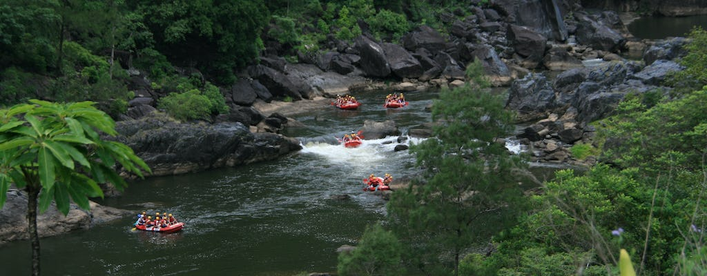 Half-day Barron River white-water rafting