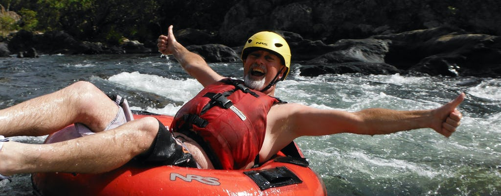 Half-day rainforest river tubing