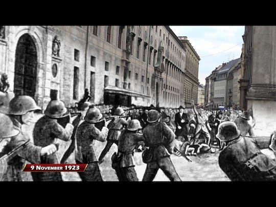 Tour a piedi del terzo Reich di Monaco